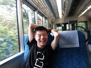 電車でお出かけ♪